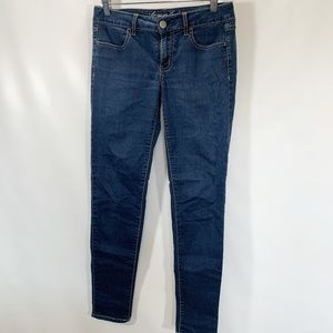 American Eagle 6 Jegging Stretch Jeans Medium Wash